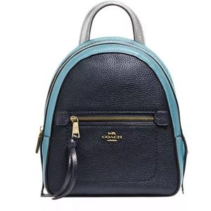 Coach Andi Convertible Backpack Colorblock NWT